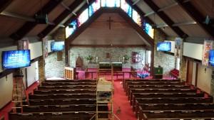 St. George's Church Installation