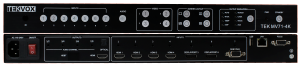 Front & Back Panel Views of MV71-4K Multiview Switcher