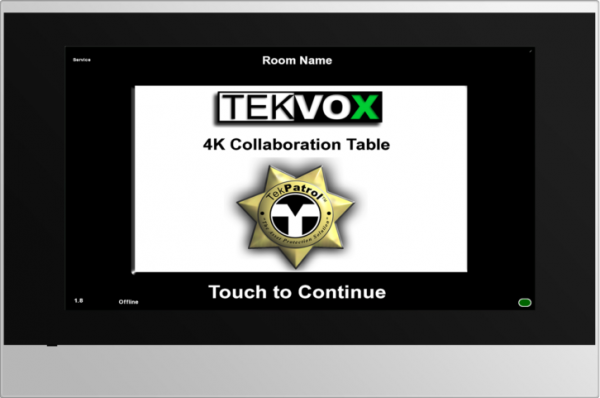 Official Product Photo of TCX7 Touchscreen