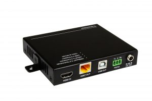Official Product Photo of 100m HDBase-T TX w/ USB 2.0