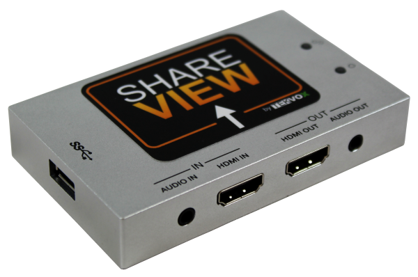 Official Product Photo of ShareView HDMI Capture Module