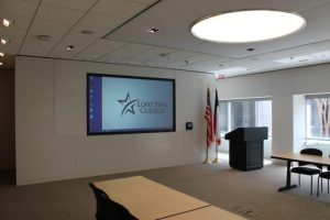 Conference Center installation for Lone Star College - University Park